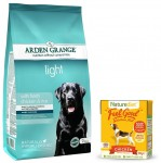 Arden Grange Adult Light 2 kg + opakowanie Naturediet 390g GRATIS