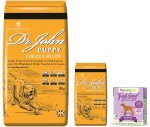 Dr John Puppy 10 kg + 2 kg  + 18 x Naturediet Puppy 390g