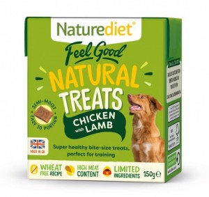 Naturalne Przysmaki Naturediet Feel Good Chicken & Lamb 150 g