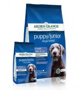 Arden Grange Puppy Junior Large Breed 12kg + 2 kg