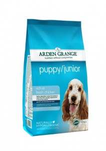 Arden Grange Puppy Junior 6 kg (3 x 2 kg)